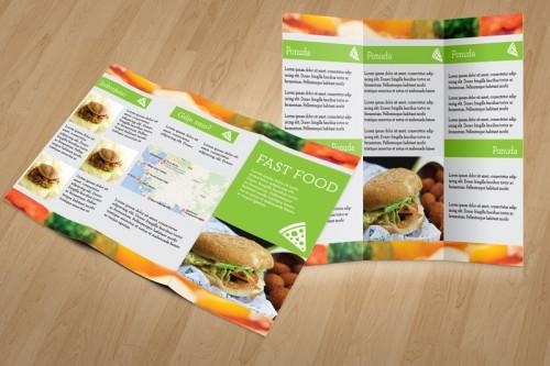 Dizajn cjenika i jelovnika za Fast Food Slavonski Brod