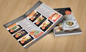Dizajn jelovnika za restorane Pula