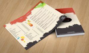 Dizajn jelovnika za restorane Slavonski Brod