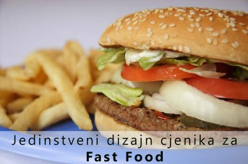 Jedinstveni dizajn za Fast Food