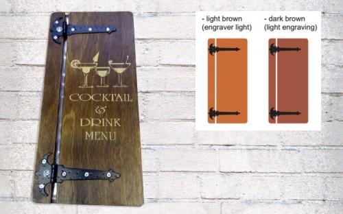 izrada drvenih vinski karti